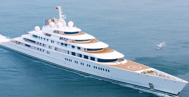 10 największych jachtów świata - ZOBACZ NAJNOWSZY RANKING