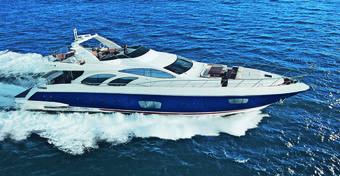 Jachty motorowe: Azimut 98 Leonardo Fly